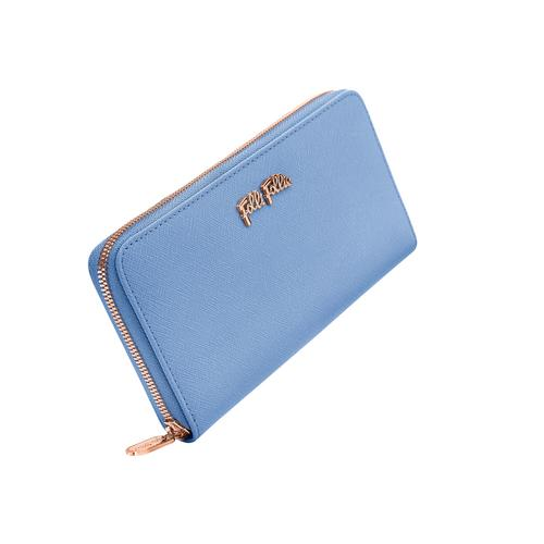 FOLLI FOLLIE Saffiano Wallet Blue