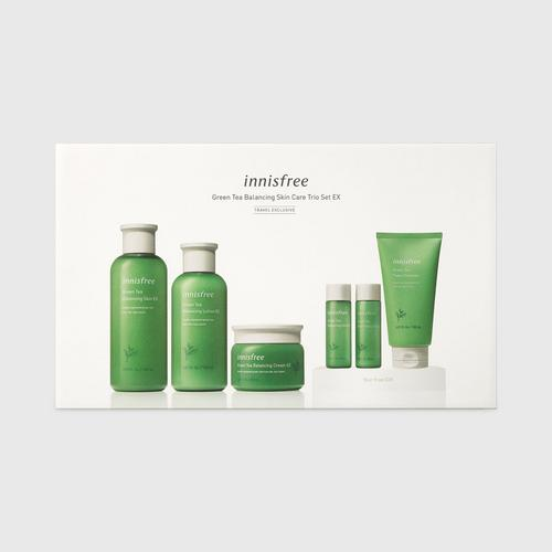 INNISFREE Green Tea Balancing Skin Care Trio Set EX