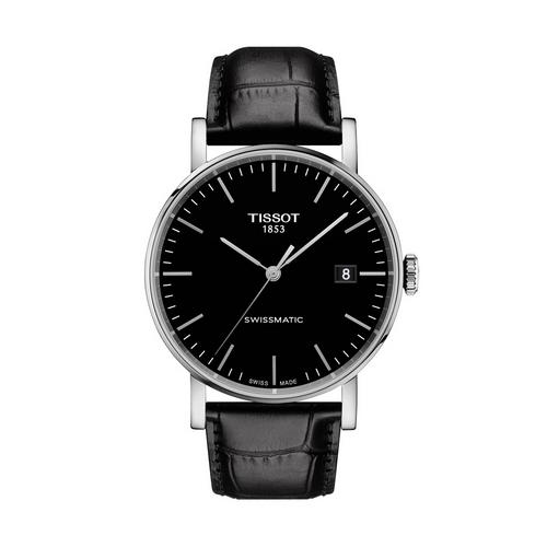 TISSOT Everytime Swissmatic  Gent Steel 40mm (Black Dial)