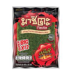 Masita Fried Super Big Seaweed 81.6 g - Spicy Flavor