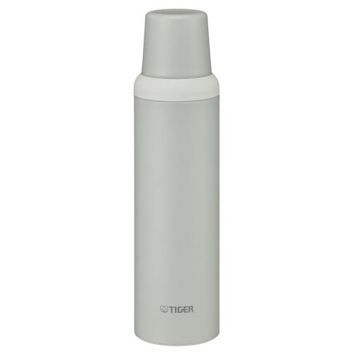 TIGER Vacuum Stainless Bottle MSI-A080WG 800 ml. White-Gray