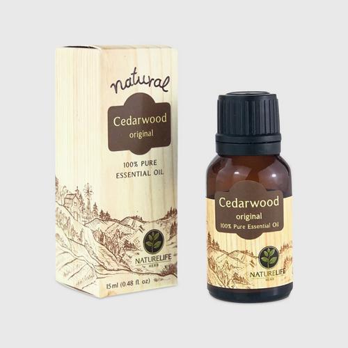 Nature Life Herb / Cedarwood Pure 100% Oil / 15 ml.