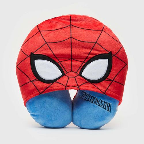 MARVEL Spiderman Neck pillow with Hoodie