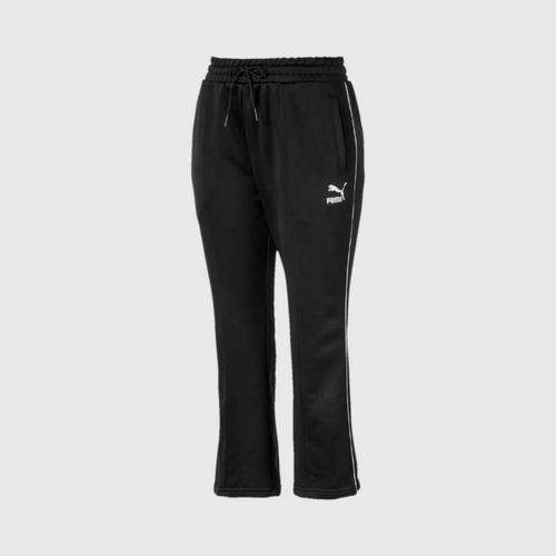 PUMA Women's Pants Classics Kick Flare Puma Black Size XS UK