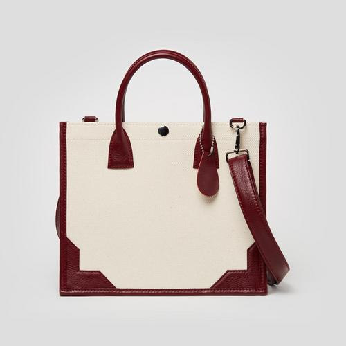 LONGLAI Tote Bag Small Size - White Colour