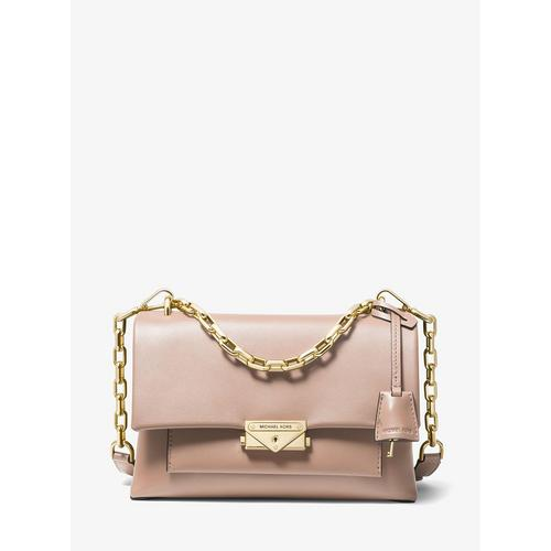 MICHAEL KORS Cece Medium Leather Shoulder Bag - SOFT PINK