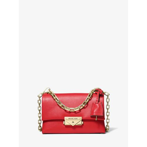MICHAEL KORS Cece Extra-Small Leather Crossbody Bag - BRIGHT RED