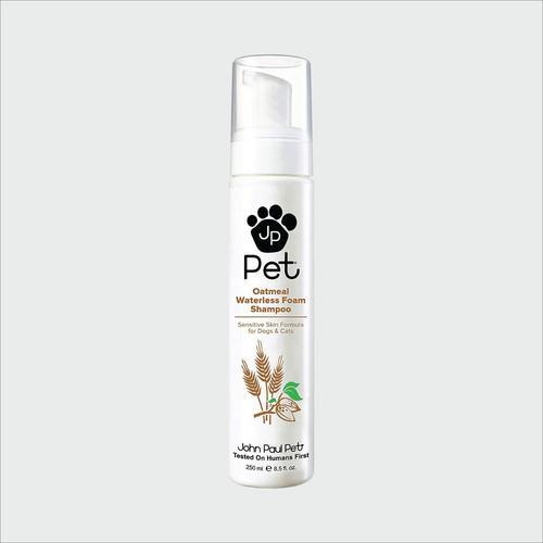 John Paul Pet Oatmeal Waterless Foam Shampoo8.5oz