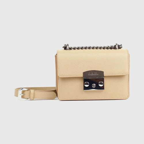 LABELLA LUNA SHOULDER BAG - SAND