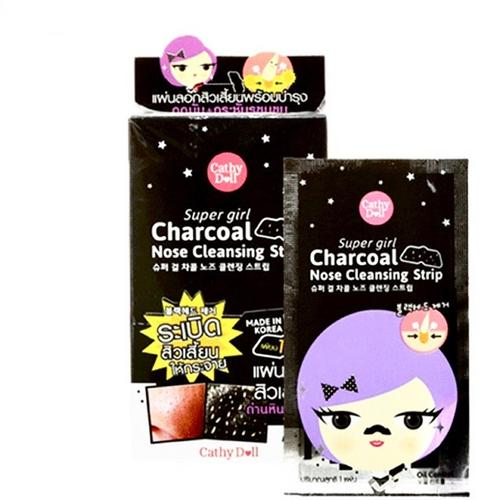 Cathy Doll Super Girl Charcoal Nose Cleansing Strip (1x12)