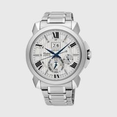 SEIKO Premier Kinetic 42.9mm (White Dial) SNP139P