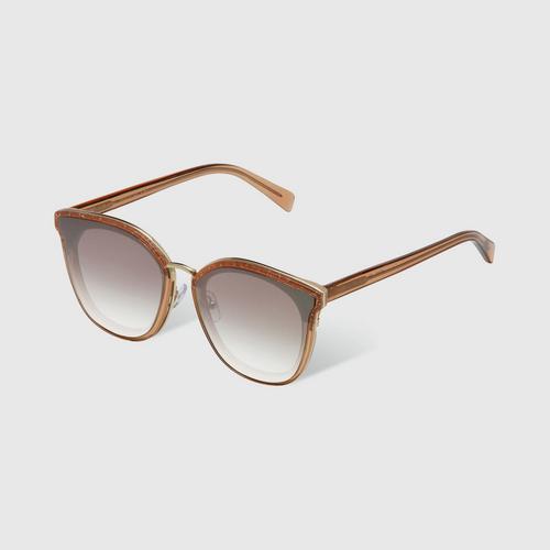 VEDI VERO VE912/BR Classic Square Line Sunglasses