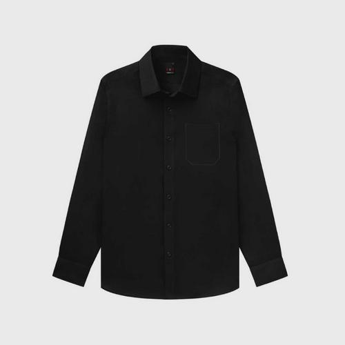 GQWhite™ Black The Ultimate Black Shirt (Pocket) size 39