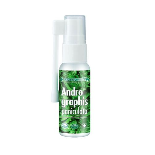 Dentiste Andrographis paniculatar mouth spray 20ml.