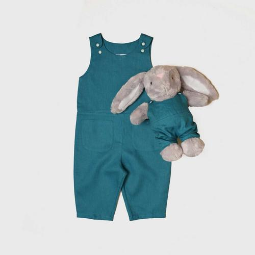TINY MOON Ashley Jumpsuit with Matching Doll 2-3Y - Ocean