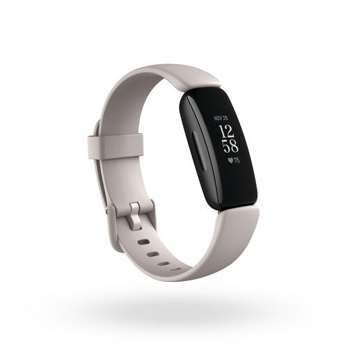 Fitbit Inspire 2 Health & Fitness Tracker + Heart Rate Lunar - White
