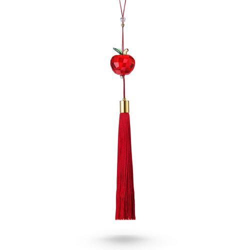 SWAROVSKI Red Apple Ornament