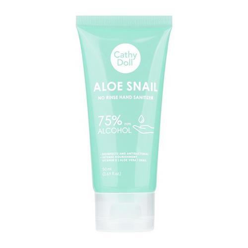 Aloe Snail No Rinse Hand Sanitizer 50ml Cathy Doll *3