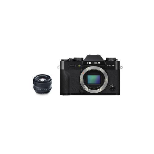 Fujifilm X-T20 Kit 35 mm. F1.4 Black