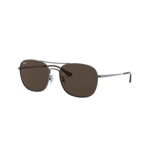 RAYBAN Gunmetal Metal Sunglasses 0RB3613D004/7358