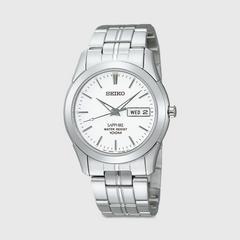 SEIKO Quartz Sapphire 36.7mm (White Dial) SGG713