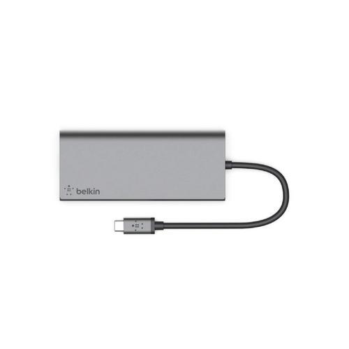 Belkin USB-C™ Multimedia Hub - Grey