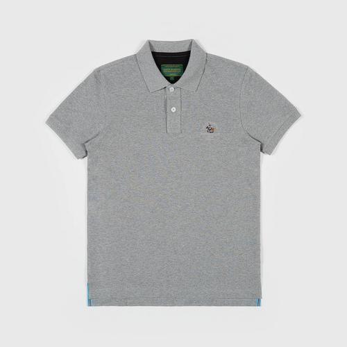 SANTA BARBARA Polo Shirt  GRAY SIZE S