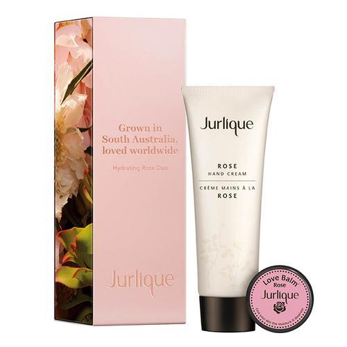 茱莉蔻 JURLIQUE 甄选玫瑰分享套装(护手霜125ml + 呵护霜 15ml)