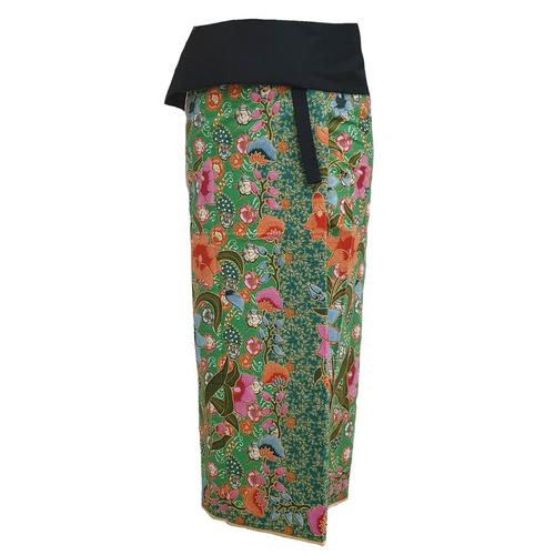 WATER SCENT SARONG DESIGN NO.4 MINT -Free Size