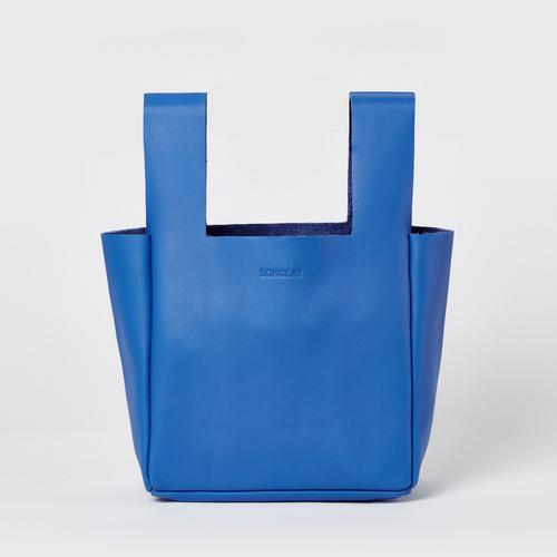 LONGLAI JEKYLL & HYDE SMALL TOTE BAG ROYAL BLUE