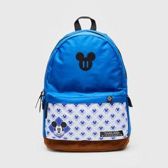 "Disney Mickey Mouse Backpack 16"" -Blue&White"