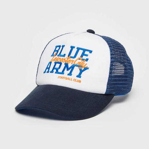 Leicester City Football Club Blue Army Cap Blue Colour