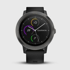 GARMIN Vivoactive 3 运动手表 Black & Gunmetal 43.0克
