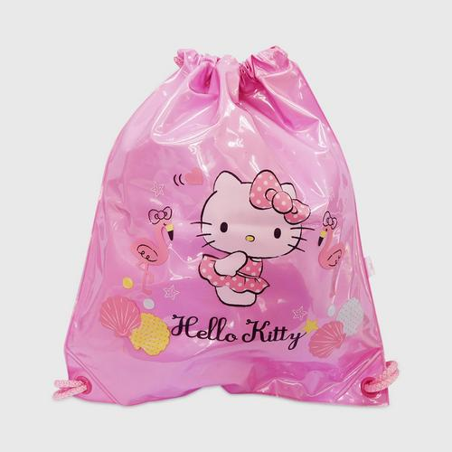 INFLAT DECOR Hello Kitty Scallop Swimming Bag 2 in 1 - Cherry Pink