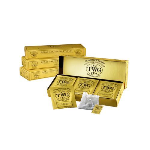 TWG ROYAL DARJEELING FTGFOP1 15 X 2.5 G TEABAGS