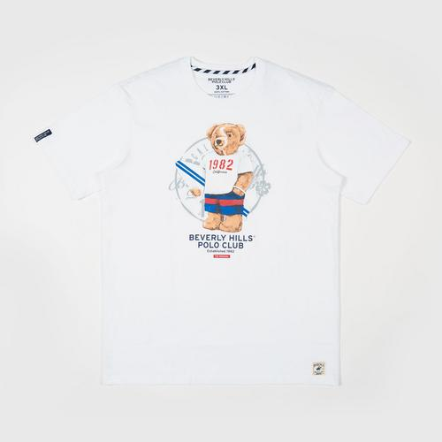 BEVERLY HILLS POLO CLUB  T-Shirt - White - M