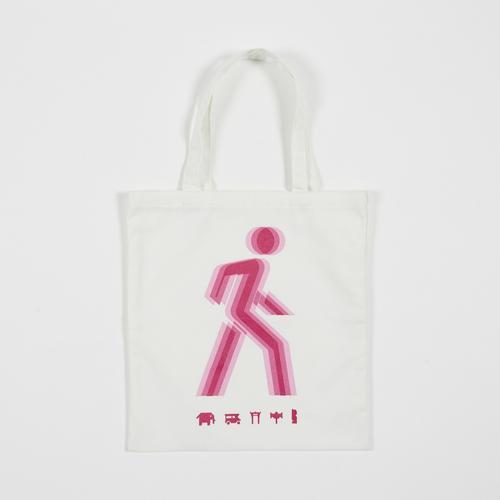 Mahanakhon SkyWalk Pink Iconic Tote Bag