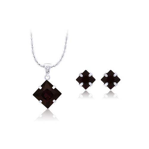 12VICTORY Square Burgundy Set