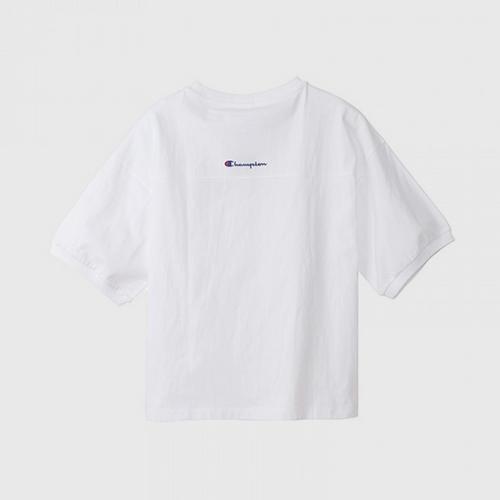 CHAMPION Women T-Shirt White - Size M