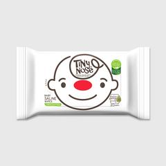 TINYNOSE BABY SALINE WIPES UNSCENT 20 SHEETS