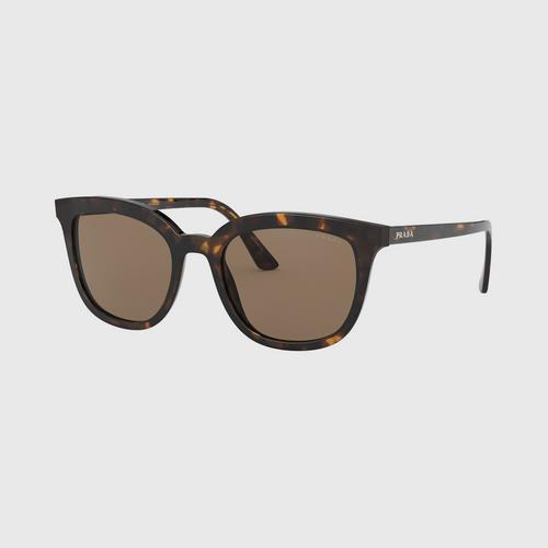 PRADA 0PR 03XSF Havana / Brown Lens (2AU8C1) Sunglasses