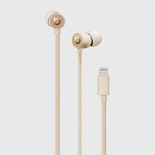 Beats urBeats3 Earphones with Lightning Connector - satin Gold