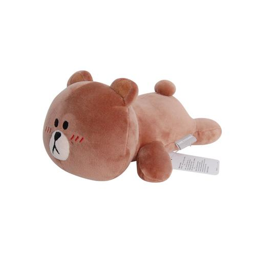 LINE FRIENDS Brown Lying 10""