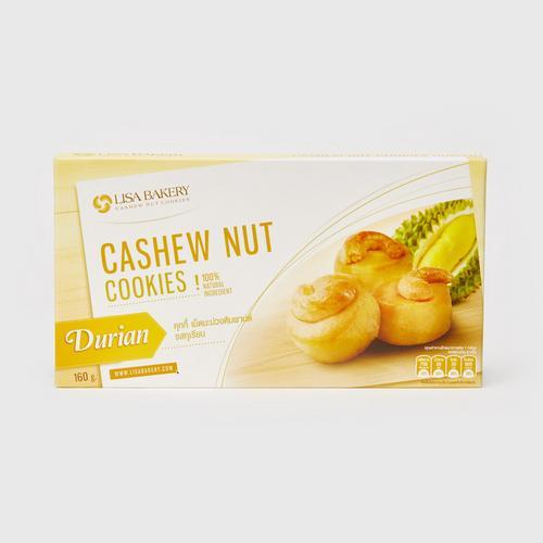 LISA BAKERY Cashew Nut Cookies Original Durian Flavor