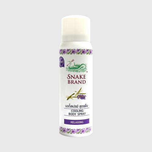 Snake Brand Prickly Heat Cooling Body Spray Relaxing