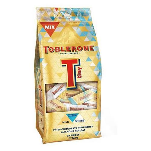 TOBLERONE TINY ALMOND MIX BAG 272G