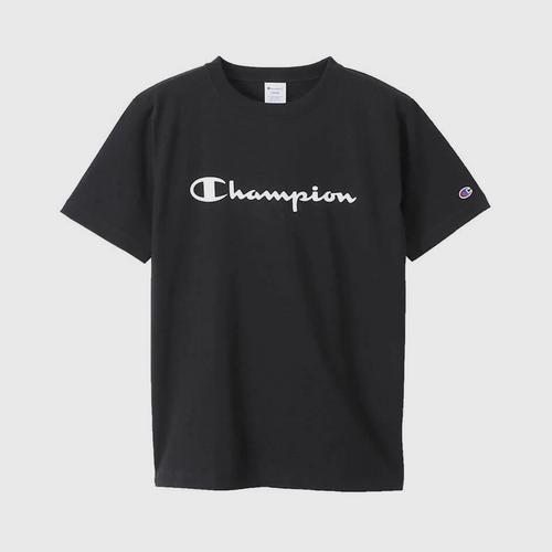 CHAMPION Men Basic T-Shirt Black - Size S