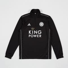 Leicester City Football Club Black Training Top 2019 - 2020 Size M