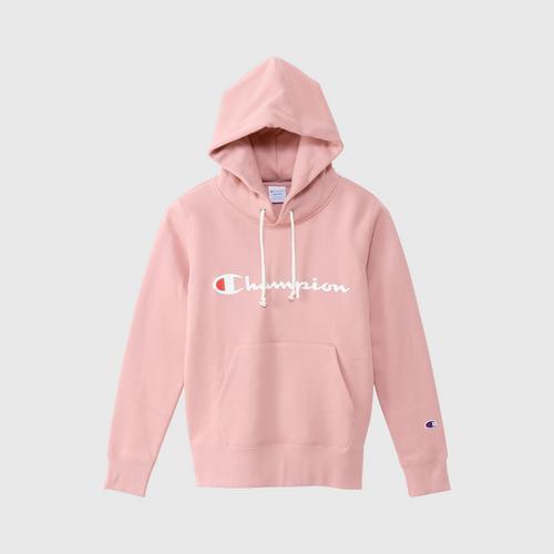CHAMPION Women Basic Sweatshirt Grayish Pink - Size M