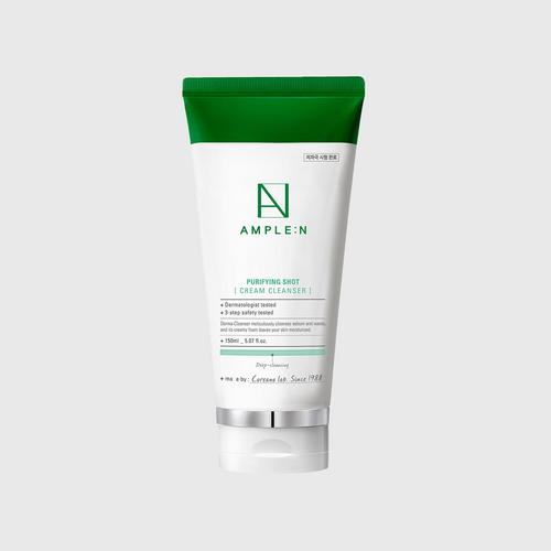 AMPLE:N Purifying Shot Cream Cleanser 150ml.